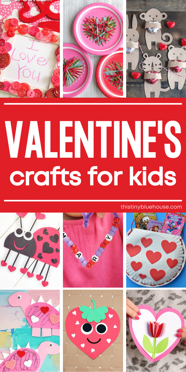 35 Adorable Valentine's Day Crafts For Kids