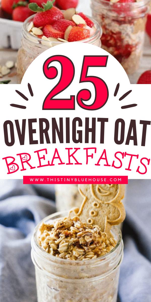 25 Easy Overnight Oat Breakfast Recipes