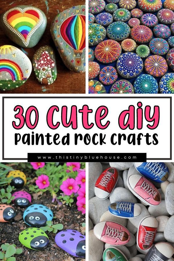 30 Adorable DIY Painted Rock Craft Ideas
