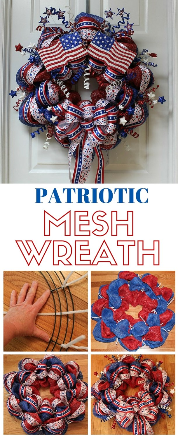 15 Amazing 4th of July Wreath Ideas (Part 2)