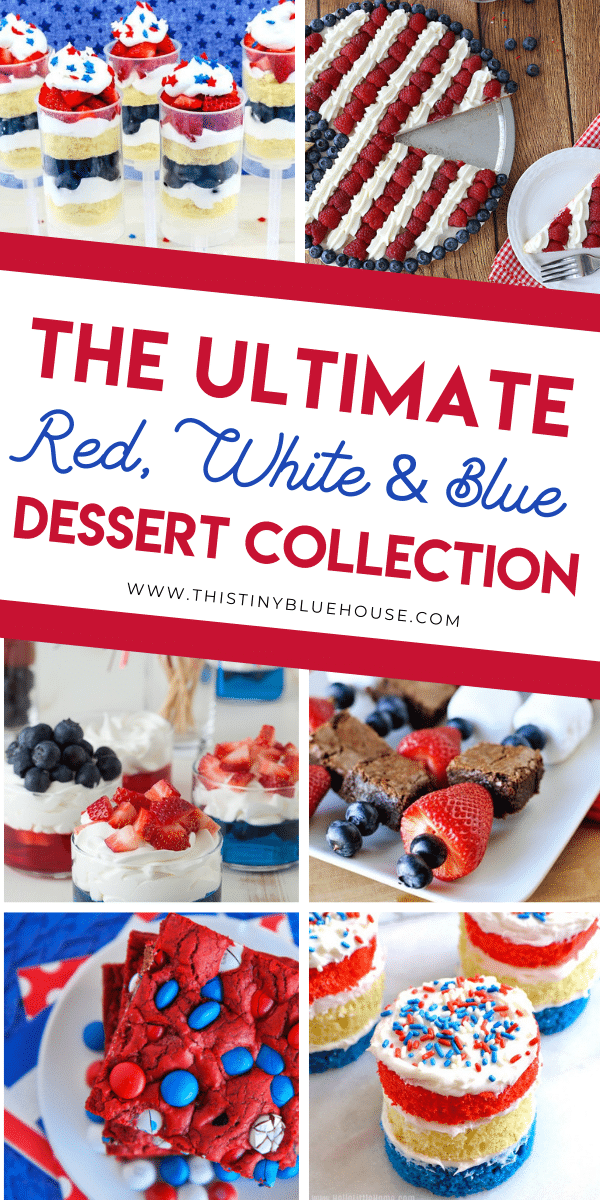 30 Ways To Make Your Home Pinterest Perfect: 25 Best Delicious 4th Of July Dessert Ideas