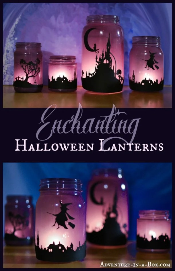15 Cute DIY Halloween Mason Jars (Part 2)