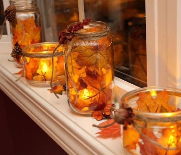 15 DIY Mason Jar Crafts For The Fall Season (Part 2)