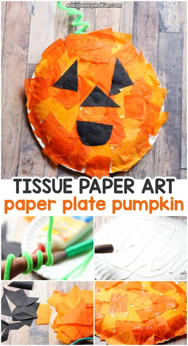 15 Cute and Easy Halloween Pumpkin Crafts for Kids (Part 2)