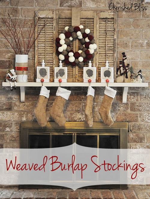 15 Rustic Christmas Mantel Decor Ideas