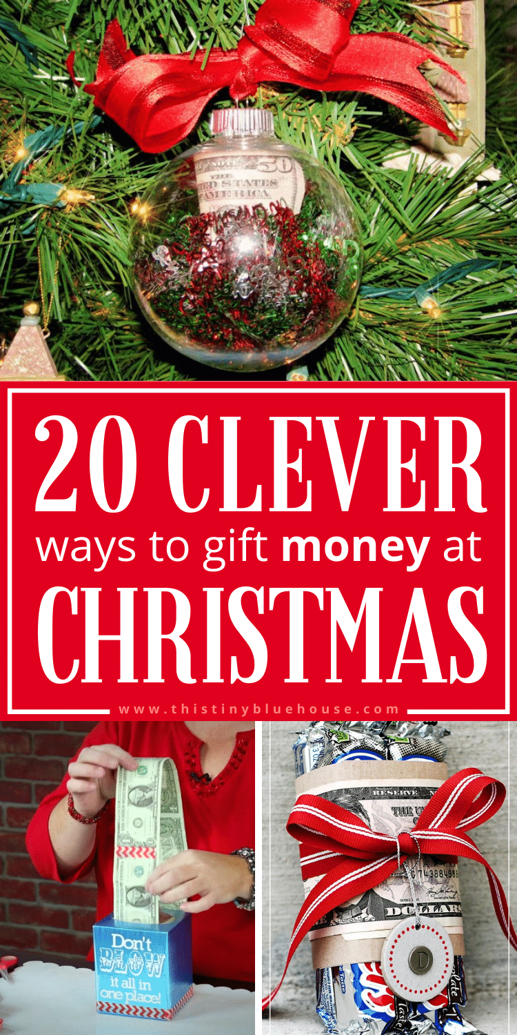 20+ Clever Ways To Gift Money At Christmas