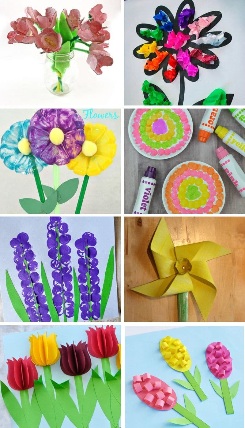 These best spring crafts for kids are the best way to celebrate and welcome spring with your kids. From weather related crafts to flowers and even animals these best spring crafts for kids are the perfect crafting activity for kids this spring!