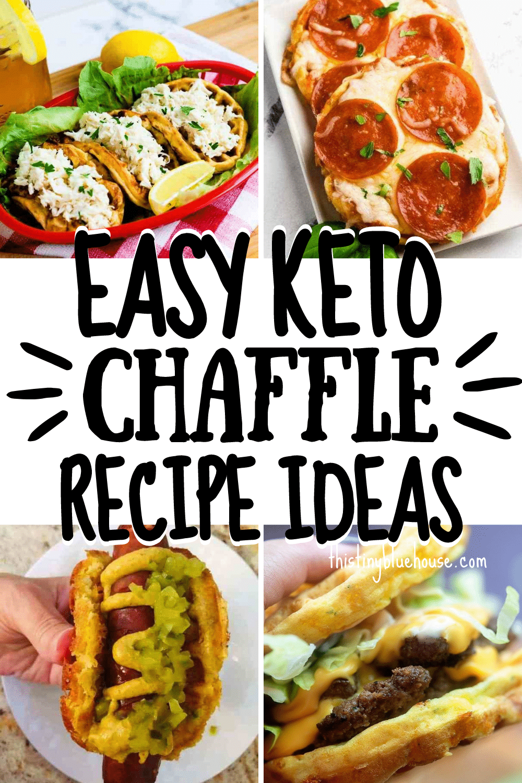 Easy Keto Chaffle Recipes