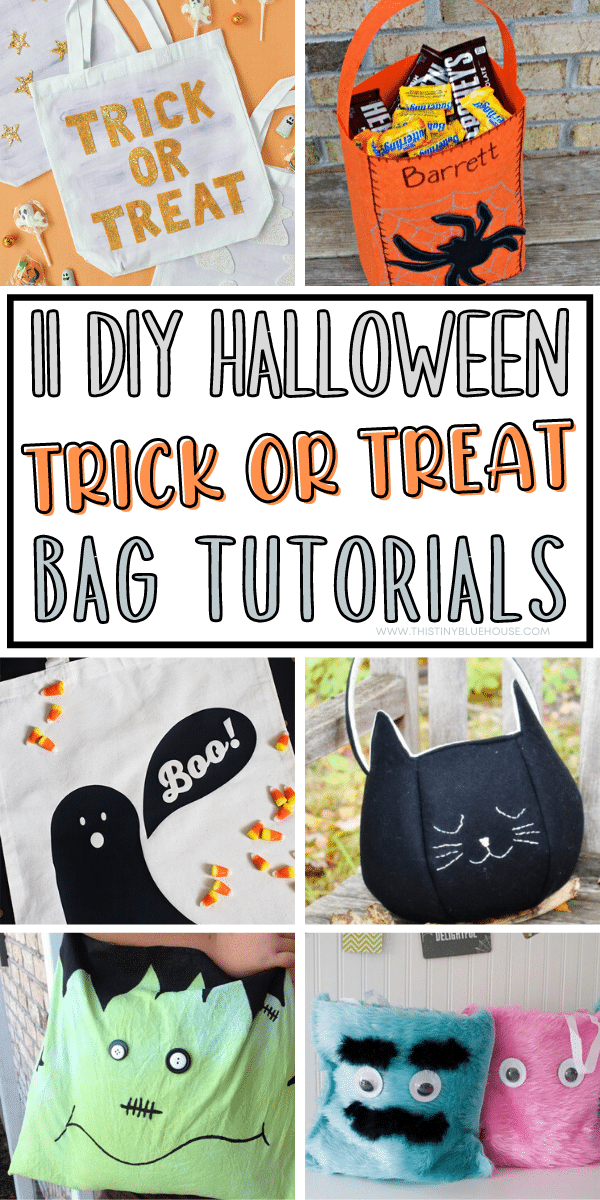 11 Cheap & Easy Diy Trick Or Treat Bags For Halloween