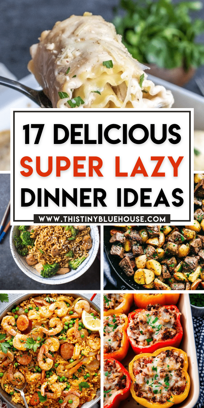 17 Delicious Lazy Dinner Ideas
