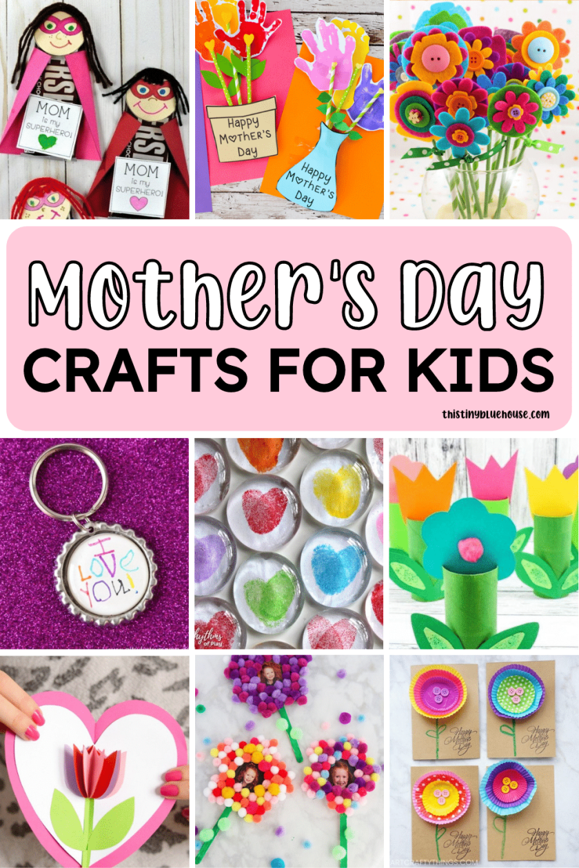 are you looking for the perfect thoughtful and sweet Mother's day gift idea that you can make this year? Here are 100 sweet Mother's day crafts that are perfect for showing mom just how much she means to you.