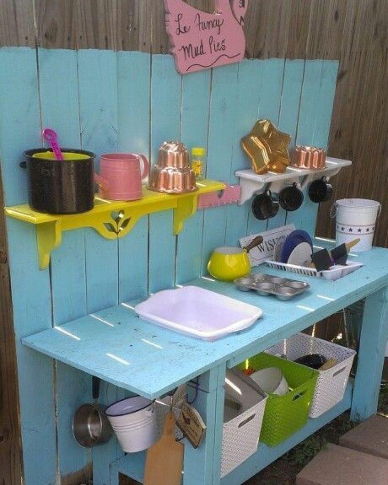 diy mud kitchens for kids