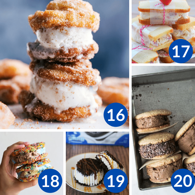 Are you interested in learning how to make ice cream sandwiches? Here is a detailed tutorial for making the best homemade ice cream sandwiches with a list of quick and easy ice cream sandwich treats you can easily make yourself.