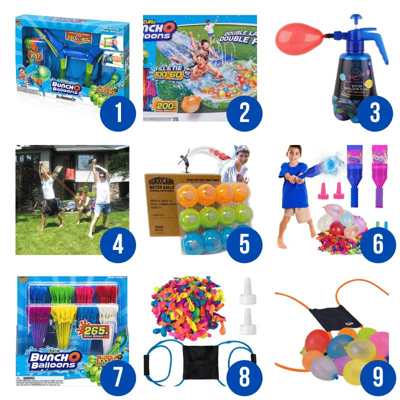 backyard water balloon games for kids
