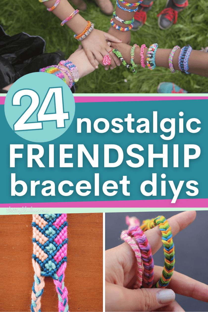 friendship bracelet tutorials beginner