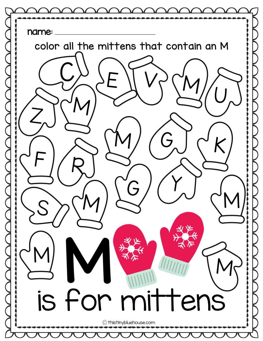 letter recognition worksheets for toddlers