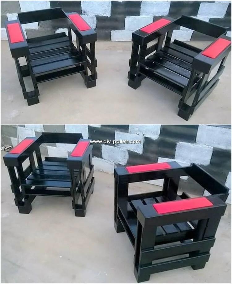 wood pallet patio furniture