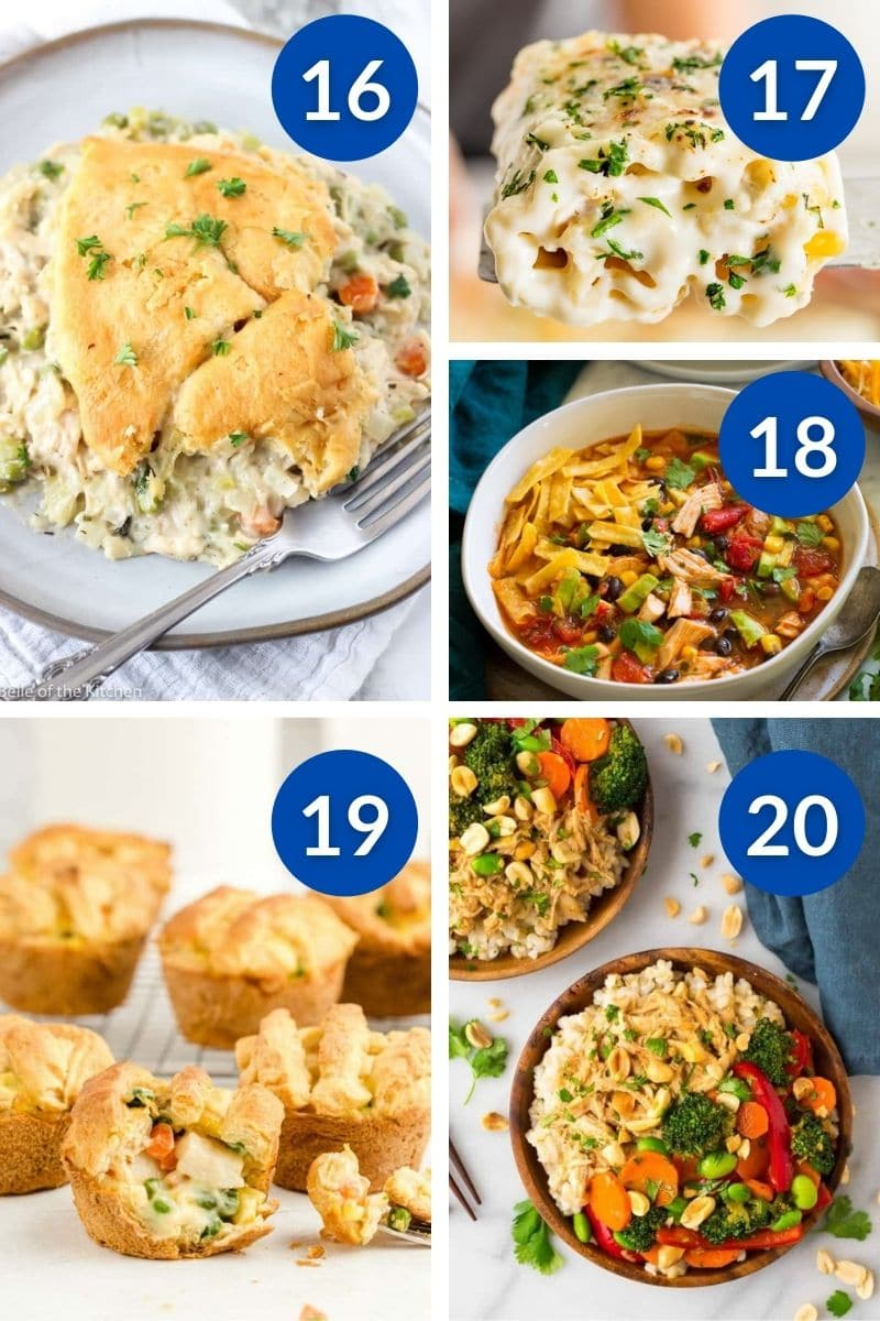 Sanity Saving Kid Approved Dinner Ideas Made With Rotisserie Chicken