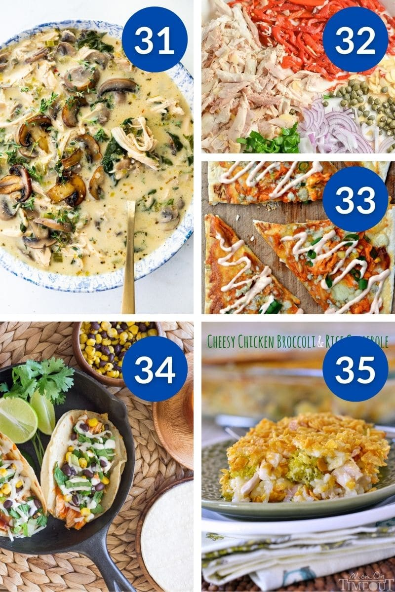 Get dinner on the table in a flash with these quick and easy family friendly dinner ideas with rotisserie chicken.