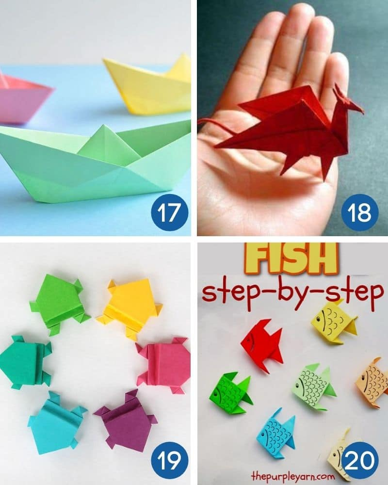 beginner origami with instructions
