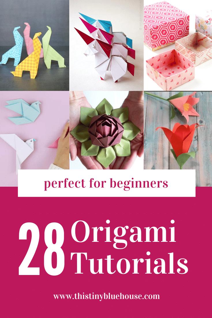simple Origami tutorials for beginners