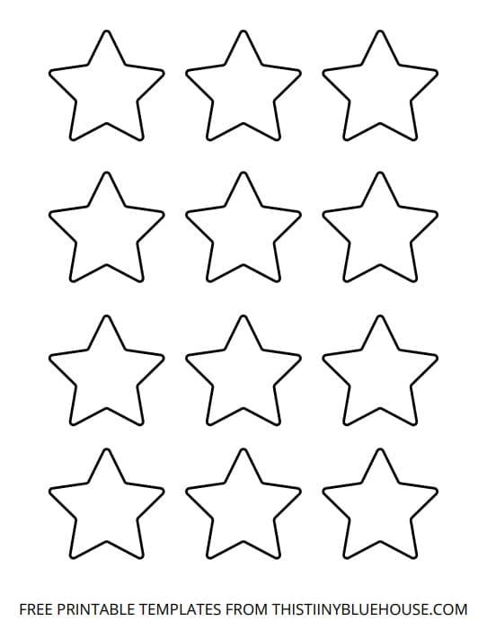 small start outline printable