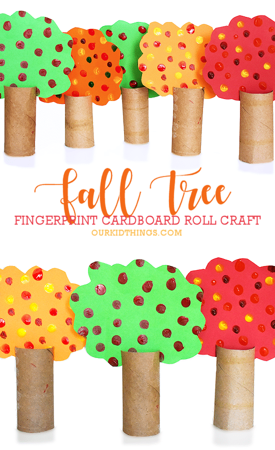 fall tree crafts for preschoolers