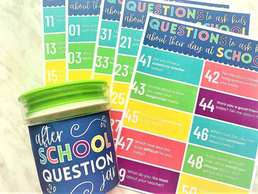 Clever Questions To Ask Kids To Get Them Talking About Their Day At School