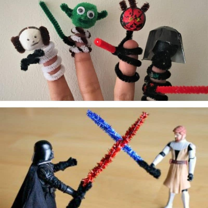 pipe cleaner star wars crafts