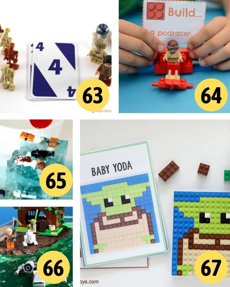 LEGO star wars crafts and activities