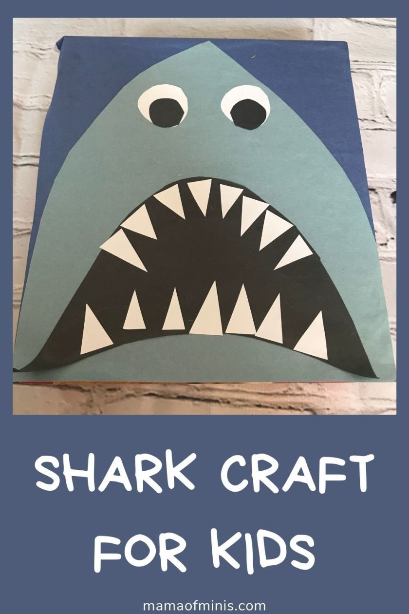 shark crafts for preschool kids
