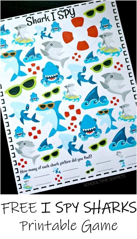 I Spy Sharks