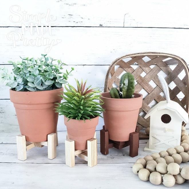 dollar tree DIY plant stand idea