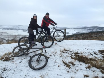 Glenlivet Trails, late December