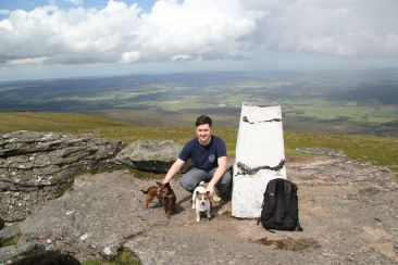 Top of Ben Rinnes