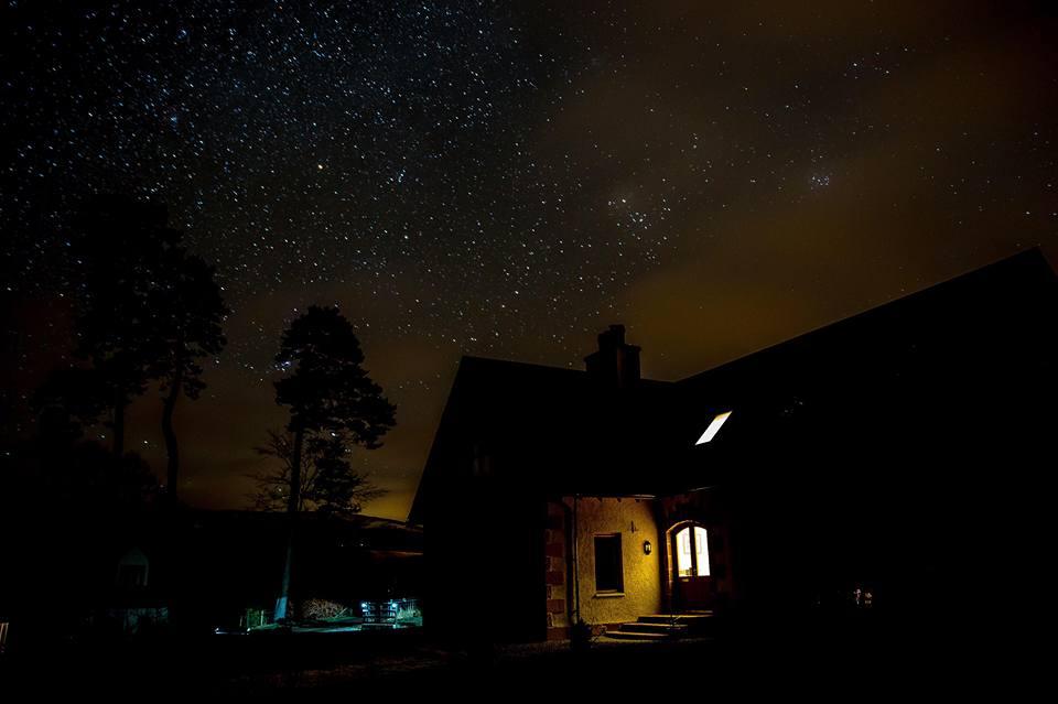 Starry night over Thistle Dhu B&B