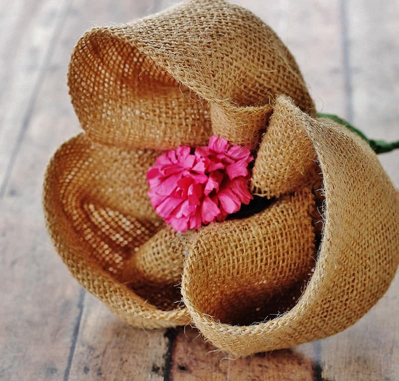 Burlap Photo Wreath Infarrantly Creative