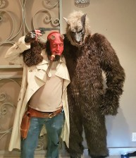 Dress up Red man and Wolf 2