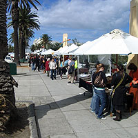 Sunday market at St Kilda