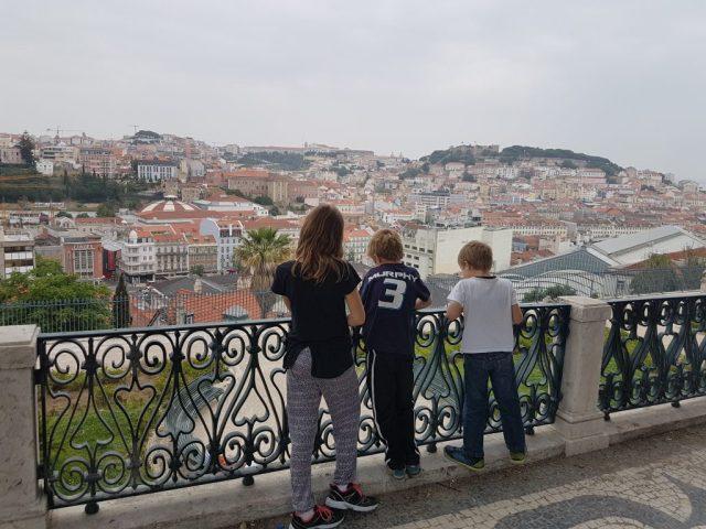 View from Sao Pedro de Alcantara belvedere