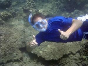 rob-snorkelling-amed-bali