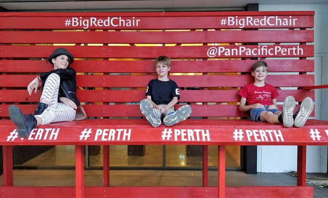 Big Red Chair Perth