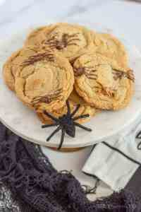 Spider Chocolate Chip Cookies (Gluten-Free)