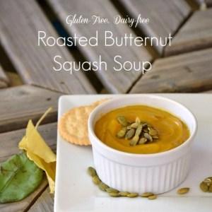 Whole30 Paleo Roasted Butternut Squash Soup