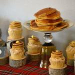 Flapjacks Cupcakes display {Gluten-Free}