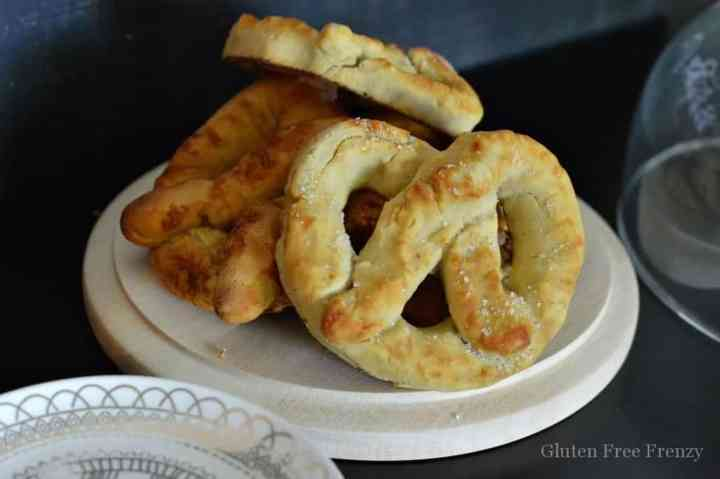 Soft pretzels gluten-free