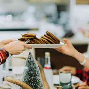 Flannel and Flapjacks Holiday Party & Maple Pancake Cupcakes