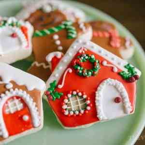 Gingerbread Decorating Party with Gluten-Free Gingerbread Pudding Cake