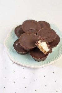 Dairy-Free Peppermint Patties with Mini Cookie Option