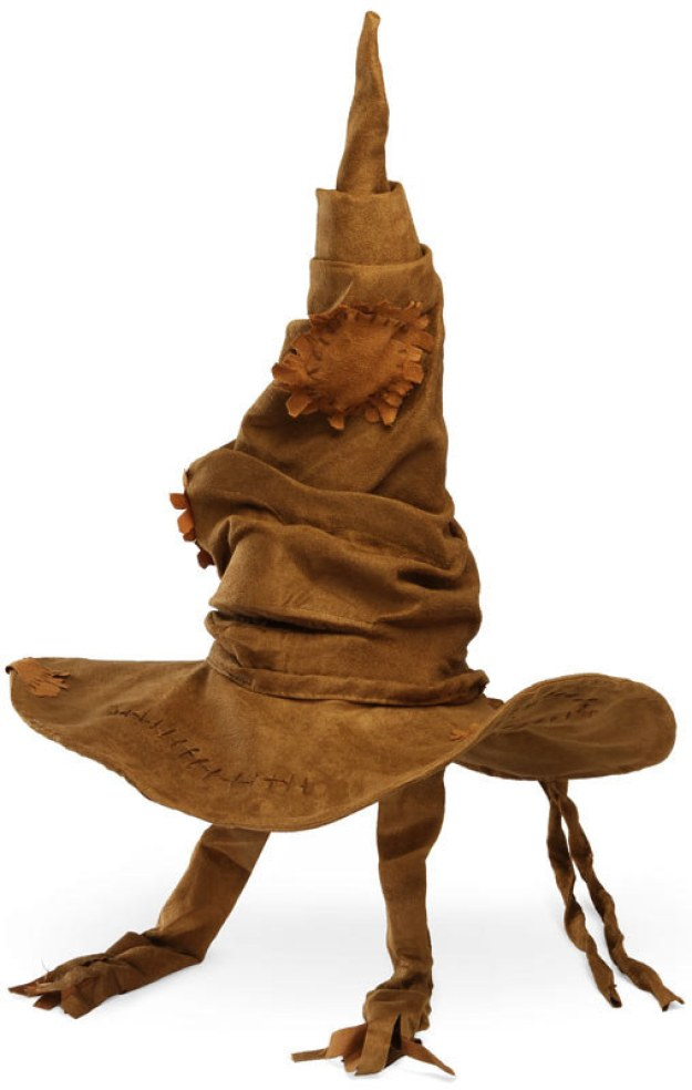 Make or buy your own Sorting Hat to place everyone in houses.
